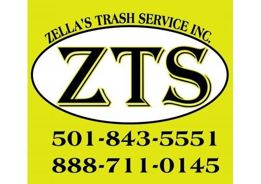Zellas Trash Service Cabot Arkansas