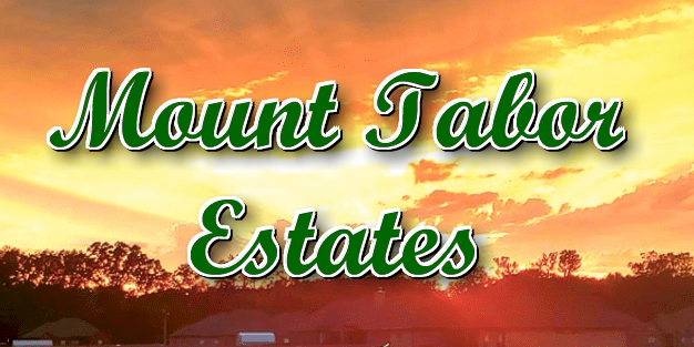 Mount Tabor Estates